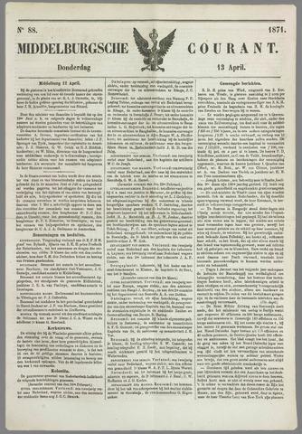 Middelburgsche Courant 1871-04-13