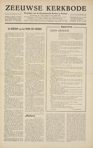 Zeeuwsche kerkbode, weekblad gewijd aan de belangen der gereformeerde kerken/ Zeeuwsch kerkblad 1955-09-16