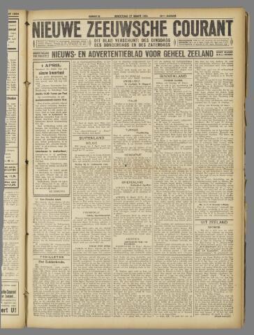 Nieuwe Zeeuwsche Courant 1924-03-27