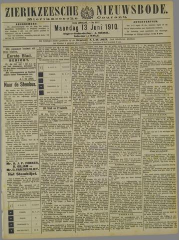 Zierikzeesche Nieuwsbode 1910-06-13