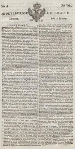 Middelburgsche Courant 1761-01-13