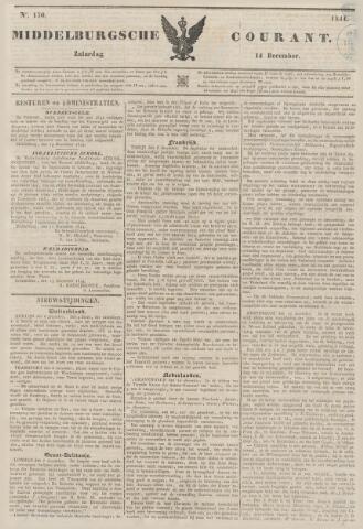 Middelburgsche Courant 1844-12-14