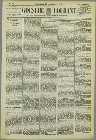 Goessche Courant 1919-08-14