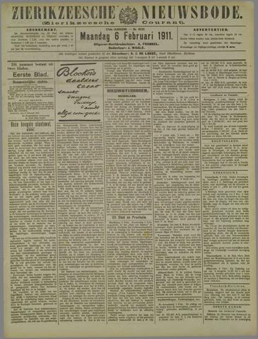 Zierikzeesche Nieuwsbode 1911-02-06