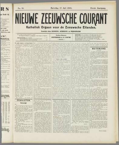 Nieuwe Zeeuwsche Courant 1905-07-22