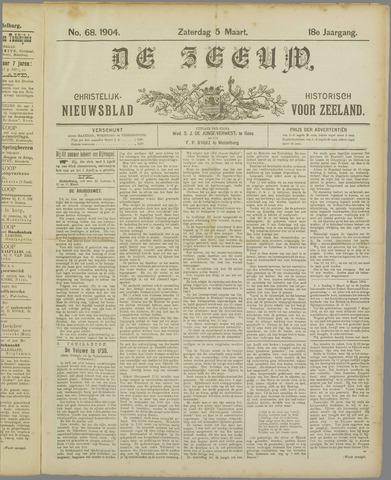 De Zeeuw. Christelijk-historisch nieuwsblad voor Zeeland 1904-03-05