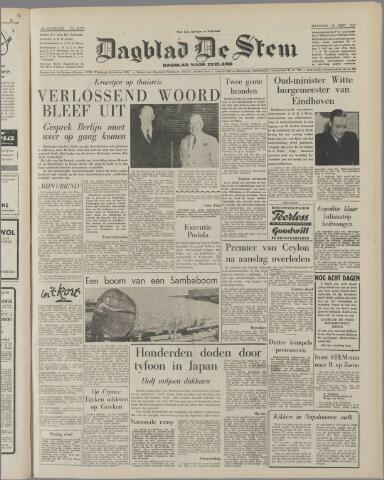 de Stem 1959-09-28