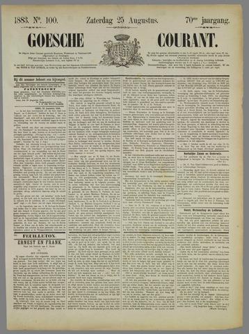 Goessche Courant 1883-08-25