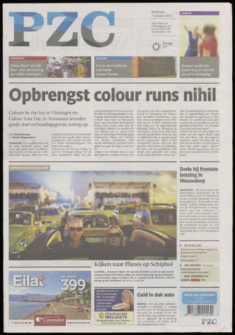 Provinciale Zeeuwse Courant 2013-10-01
