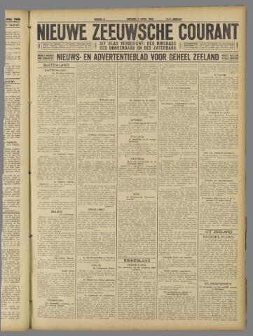 Nieuwe Zeeuwsche Courant 1925-04-07