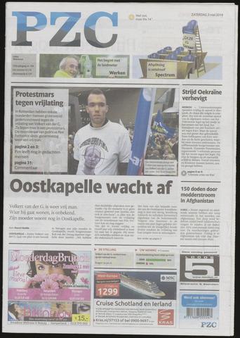 Provinciale Zeeuwse Courant 2014-05-03
