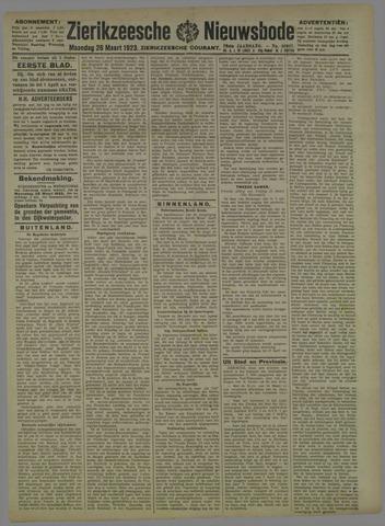 Zierikzeesche Nieuwsbode 1923-03-26
