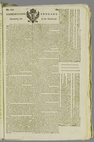 Middelburgsche Courant 1809-11-09