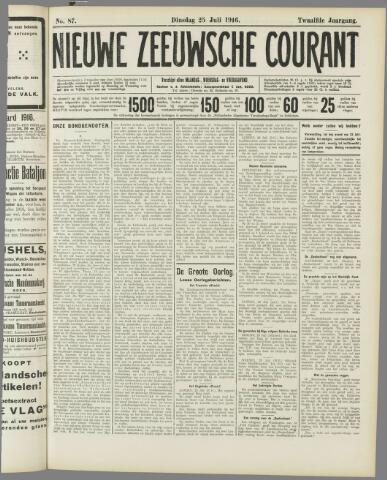 Nieuwe Zeeuwsche Courant 1916-07-25