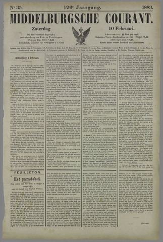 Middelburgsche Courant 1883-02-10