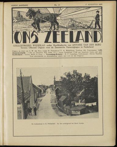 Ons Zeeland / Zeeuwsche editie 1929-08-17