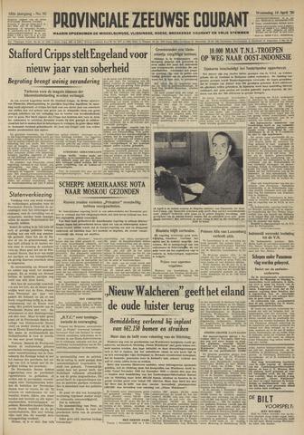 Provinciale Zeeuwse Courant 1950-04-19
