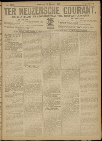 Ter Neuzensche Courant. Algemeen Nieuws- en Advertentieblad voor Zeeuwsch-Vlaanderen / Neuzensche Courant ... (idem) / (Algemeen) nieuws en advertentieblad voor Zeeuwsch-Vlaanderen 1917-01-27