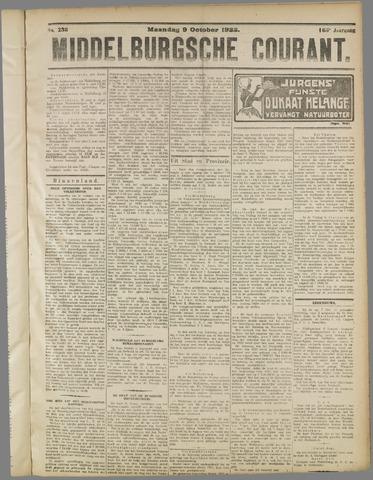 Middelburgsche Courant 1922-10-09