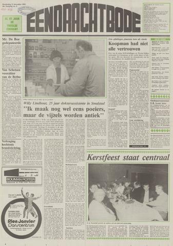 Eendrachtbode (1945-heden)/Mededeelingenblad voor het eiland Tholen (1944/45) 1989-12-21