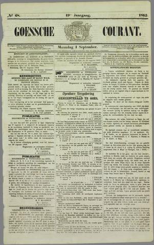 Goessche Courant 1862-09-01