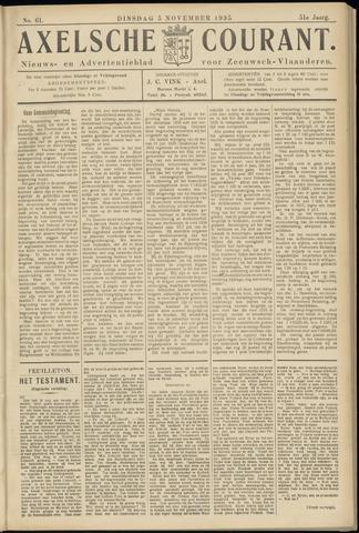 Axelsche Courant 1935-11-05