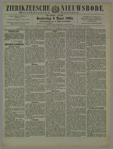Zierikzeesche Nieuwsbode 1905-03-09