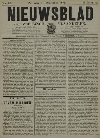 Nieuwsblad voor Zeeuwsch-Vlaanderen 1892-12-10