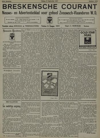 Breskensche Courant 1937-09-10