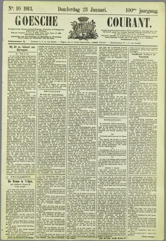 Goessche Courant 1913-01-23