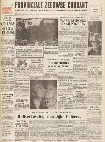 Provinciale Zeeuwse Courant 1967-08-21
