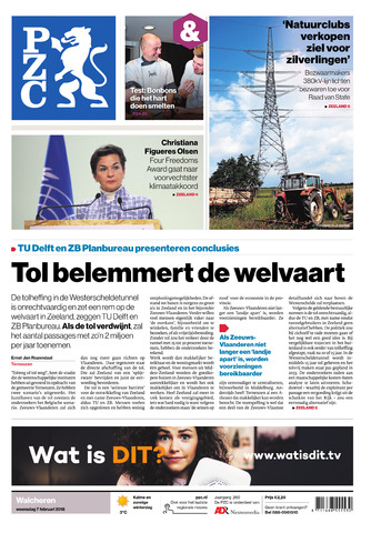 Provinciale Zeeuwse Courant 2018-02-07