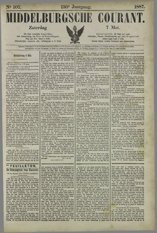 Middelburgsche Courant 1887-05-07