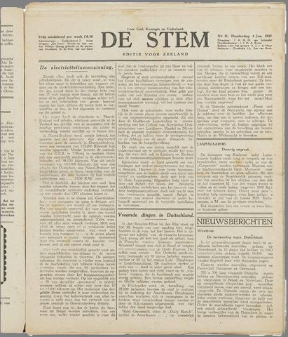 de Stem 1945-01-04