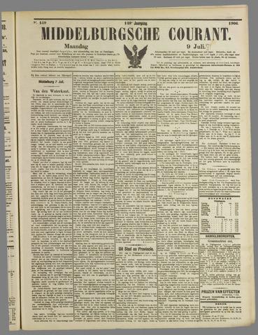 Middelburgsche Courant 1906-07-09