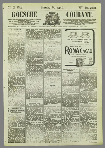 Goessche Courant 1912-04-30