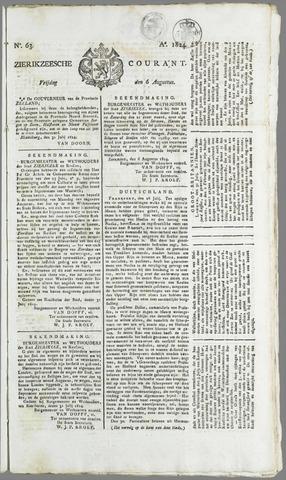 Zierikzeesche Courant 1824-08-06