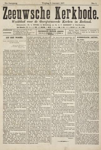 Zeeuwsche kerkbode, weekblad gewijd aan de belangen der gereformeerde kerken/ Zeeuwsch kerkblad 1917-01-05
