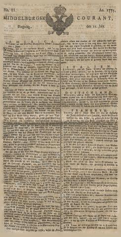 Middelburgsche Courant 1775-07-25
