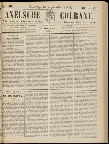 Axelsche Courant 1909-09-25