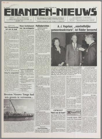 Eilanden-nieuws. Christelijk streekblad op gereformeerde grondslag 1989-09-05