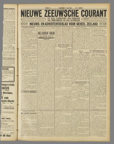 Nieuwe Zeeuwsche Courant 1930-07-17