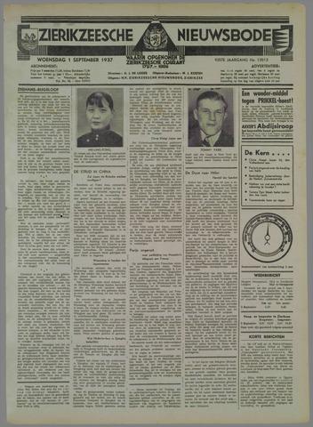 Zierikzeesche Nieuwsbode 1937-09-01