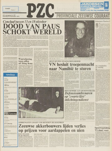 Provinciale Zeeuwse Courant 1978-09-30