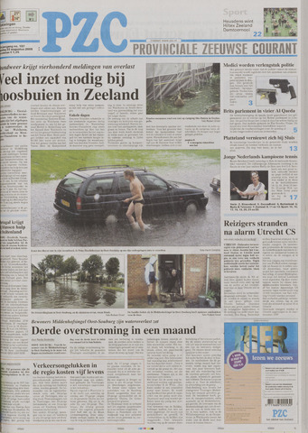 Provinciale Zeeuwse Courant 2005-08-22