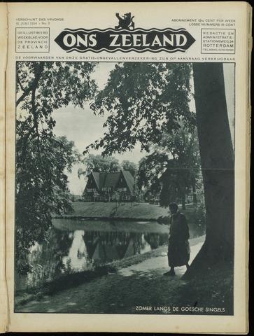 Ons Zeeland / Zeeuwsche editie 1934-06-15