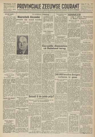 Provinciale Zeeuwse Courant 1947-08-29