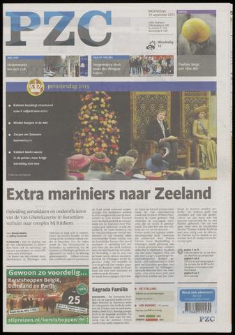 Provinciale Zeeuwse Courant 2013-09-18