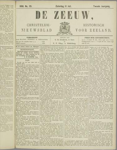 De Zeeuw. Christelijk-historisch nieuwsblad voor Zeeland 1888-07-14