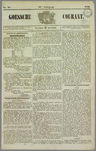Goessche Courant 1856-10-13